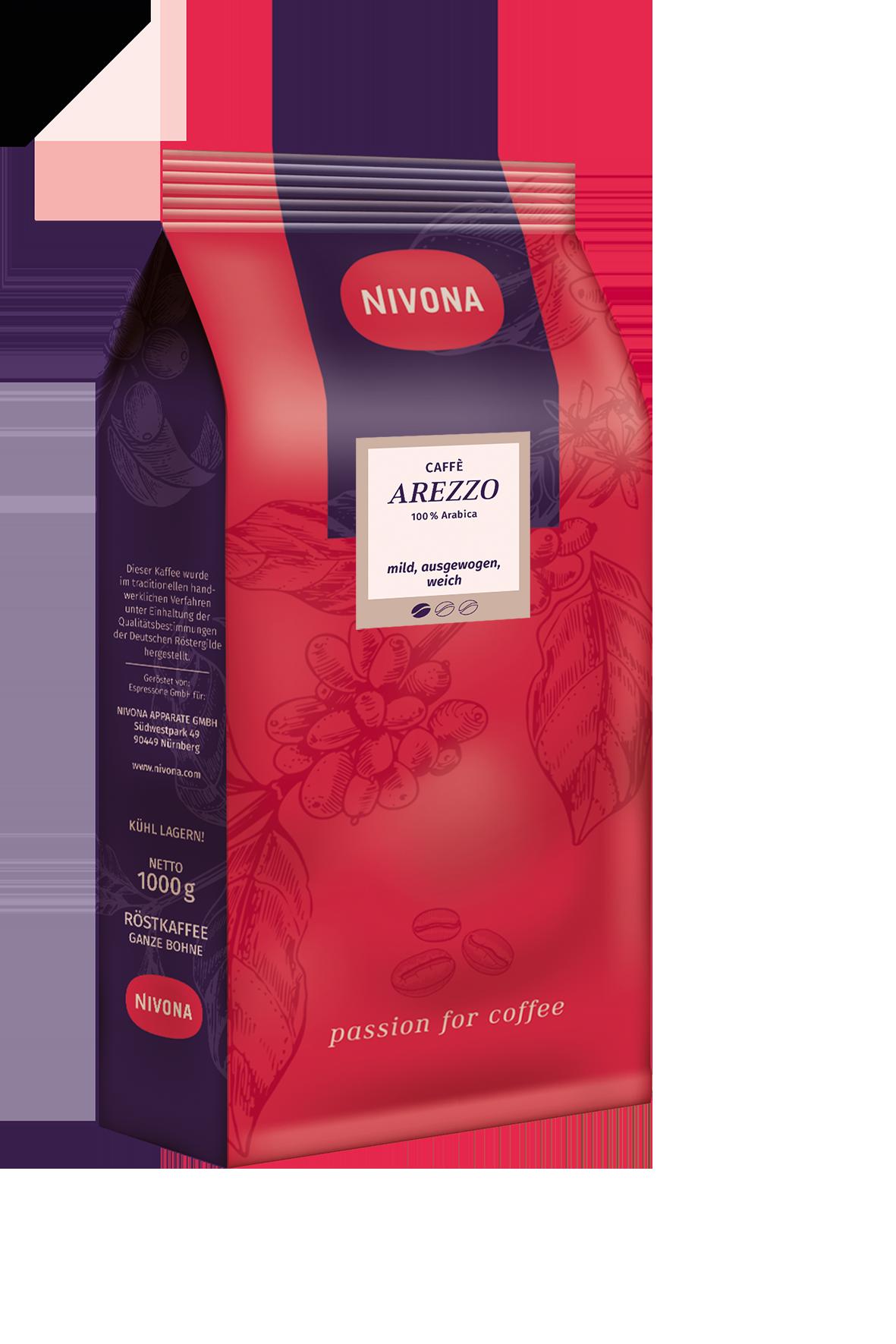 CAFFÈ AREZZO (100% Arabica des hauts plateaux)